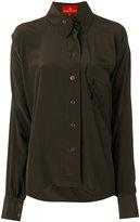 Vivienne Westwood patch pocket shirt - women - Silk - 44