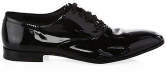Salvatore Ferragamo Patent Leather Lace-Up Oxford Shoes