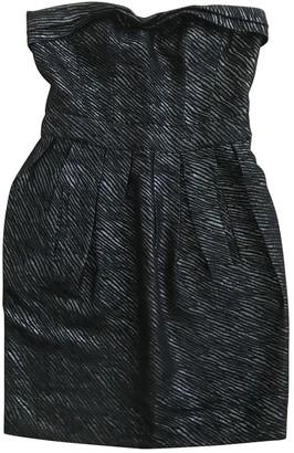 Maje Silver Cotton Dresses