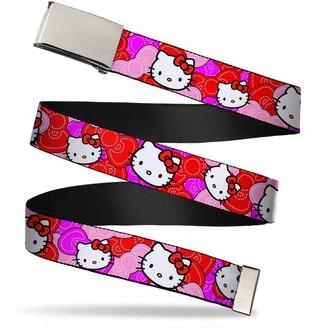 """Buckle Down Buckle-Down Web Belt Hello Kitty 1.5"""""""