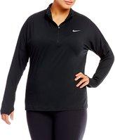 Nike Plus Dry Element Half Zip Running Top