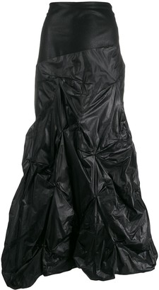 Romeo Gigli Pre-Owned 1990s gathered maxi skirt