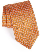 Canali Men's Geometric & Floral Silk Tie