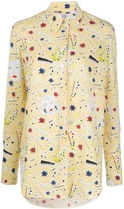 Victoria Victoria Beckham Jazzy Dream printed shirt