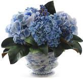 Winward Silks 14'' Hydrangeas & Berries in Vase - Faux