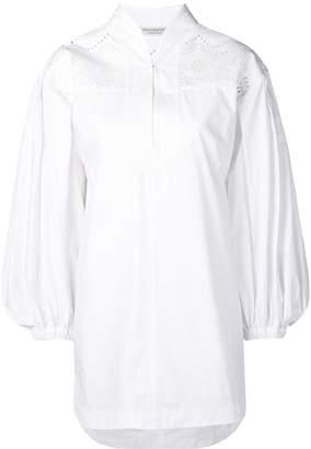 Philosophy di Lorenzo Serafini laser-cut shirt dress