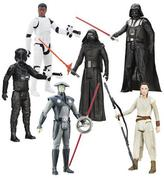 """Hasbro Star Wars The Force Awakens Hero Series Wave 4 Set with (8) 12"""" Action Figures"""