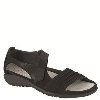 Naot Footwear Women's Papaki Sandal Black Patent Lthr Combo 6 M US