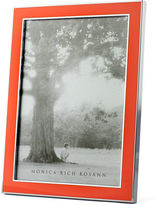 Monica Rich Kosann Silver Plate & Enamel Frame