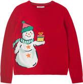 Cath Kidston Intarsia Snowman Sweater