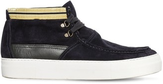 Ports 1961 Lace-Up Suede Mid Top Sneaker Boots