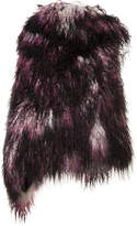 Ann Demeulemeester sleeveless fur coat