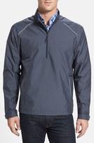 Cutter & Buck Men's Big & Tall 'Weathertec Beacon' Water Resistant Half Zip Jacket