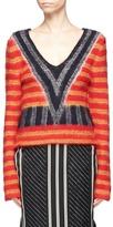 Aalto Stripe brushed sweater