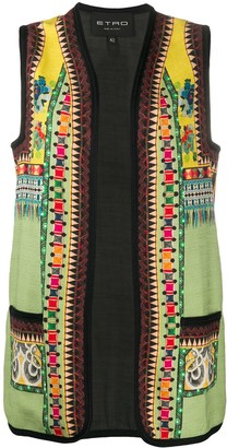 Etro Patchwork Pattern Waistcoat