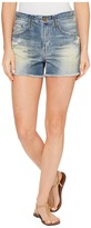AG Adriano Goldschmied Sadie Shorts in 17 Years Lapse Mended Women's Shorts