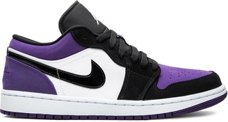 Jordan Air 1 Low court purple