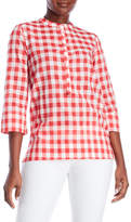 Altea Check Blouse