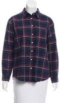 The Blue Shirt Shop Plaid Button-Up Shirt w/ Tags