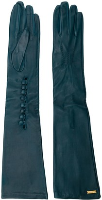 DSQUARED2 Goat Skin Long Gloves