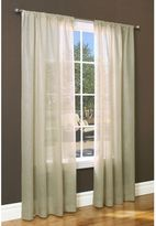 Commonwealth Home Fashions Weathervane Rod Pocket Window Curtain Panel in Linen
