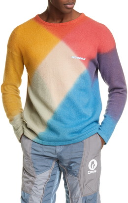 Off-White Modern Arrow Cotton Blend Sweater