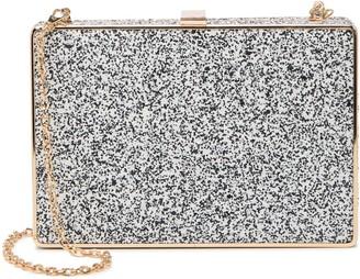Urban Expressions Edith Glitter Crossbody clutch