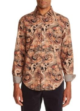 Tallia Men's Paisley Shirt