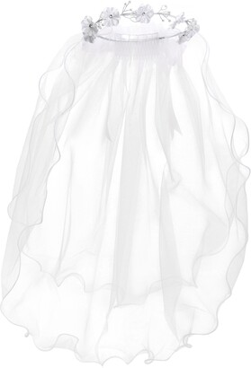 Us Angels First Communion Embellished Comb & Veil