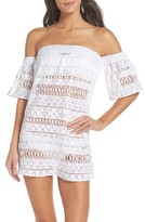 Milly Women's Crochet Cover-Up Dress
