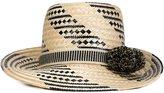 Yosuzi 'Siruma' woven hat - women - Straw - 57