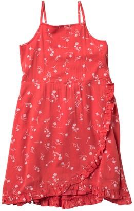 Harper Canyon Woven Ruffle Dress (Big Girls)
