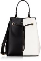 Furla Stacy S Onyx and Petalo Bucket Bag