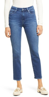 Paige Cindy Ankle Straight Leg Jeans