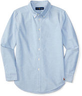 Ralph Lauren 8-20 Cotton Blake Uniform Shirt