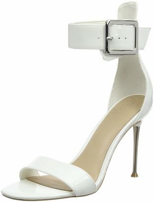 GUESS Women's Katrinna2/Sandalo (Sandal)/Lea Ankle Strap Heels