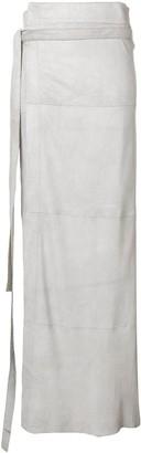 Olsthoorn Vanderwilt Wrapped Long Skirt