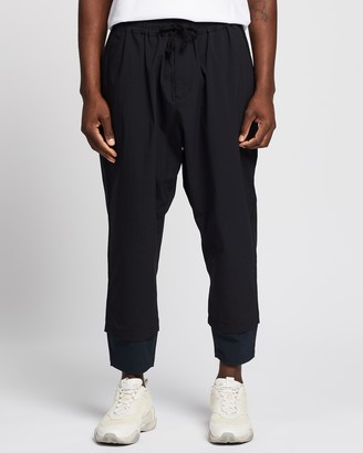 White Mountaineering Stretched Tapered Sarrouel Pants