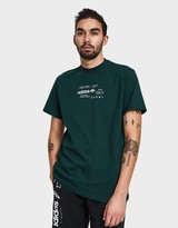 AW Graphic Tee in Green Night