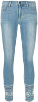 Paige Marin embroidery skinny jeans