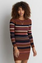 American Eagle Outfitters AE Striped Crew Neck Sweater Dress