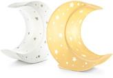 Welink welink - Moon Ceramic Lamp - White/Yellow