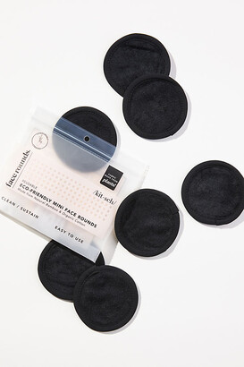 Kitsch Eco-Friendly Mini Face Rounds Set By in Black