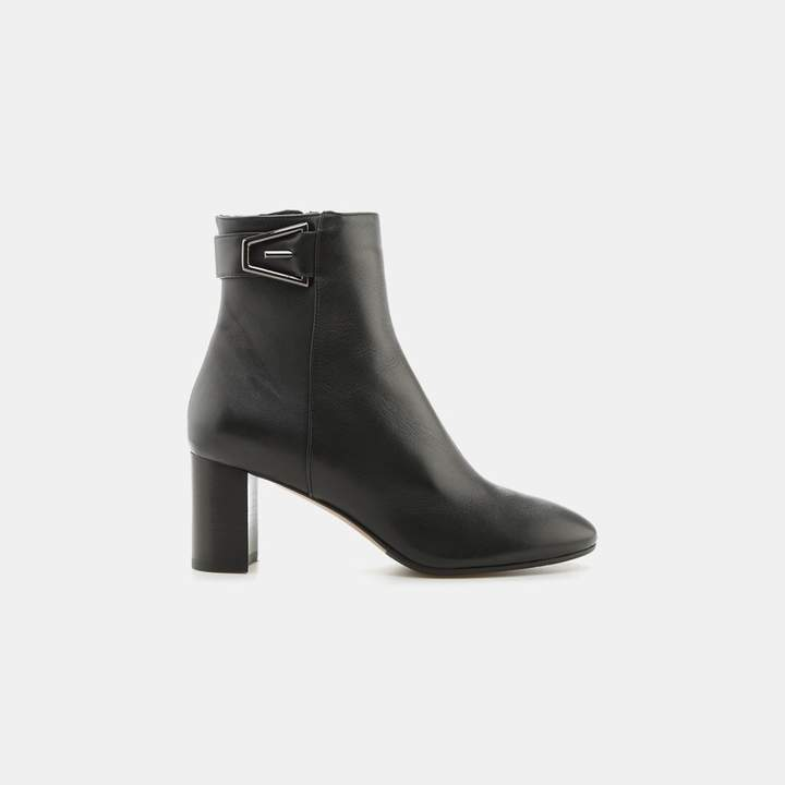 Aquatalia Venezia Leather Ankle Boot