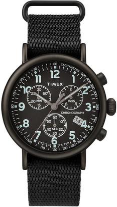 Timex Standard Chronograph 41mm Fabric Strap Watch
