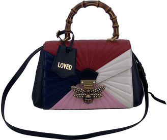 Gucci Queen Margaret Multicolour Leather Handbags