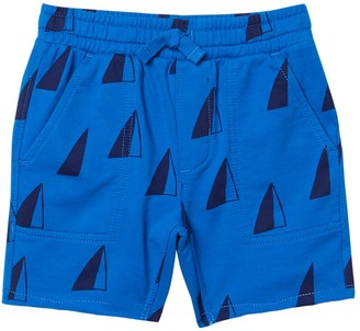 Tea Collection Print Knit Gym Shorts