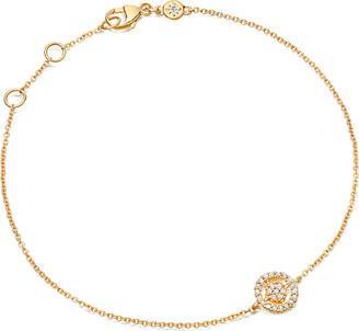 Astley Clarke Mini icon aura bracelet, Women's, yellow