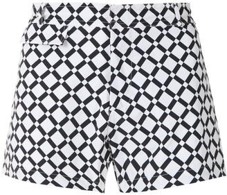 AMIR SLAMA Piso tactel swim shorts