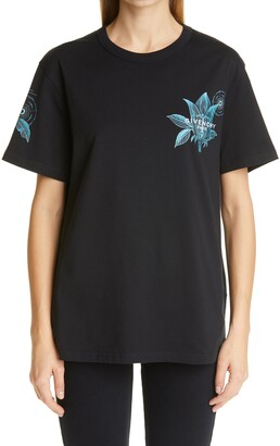 Givenchy Floral Graphic Tee